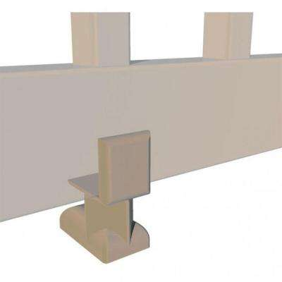 4 in. Earth Level Rail Support Kit for 8 ft. and Over Rail Sections