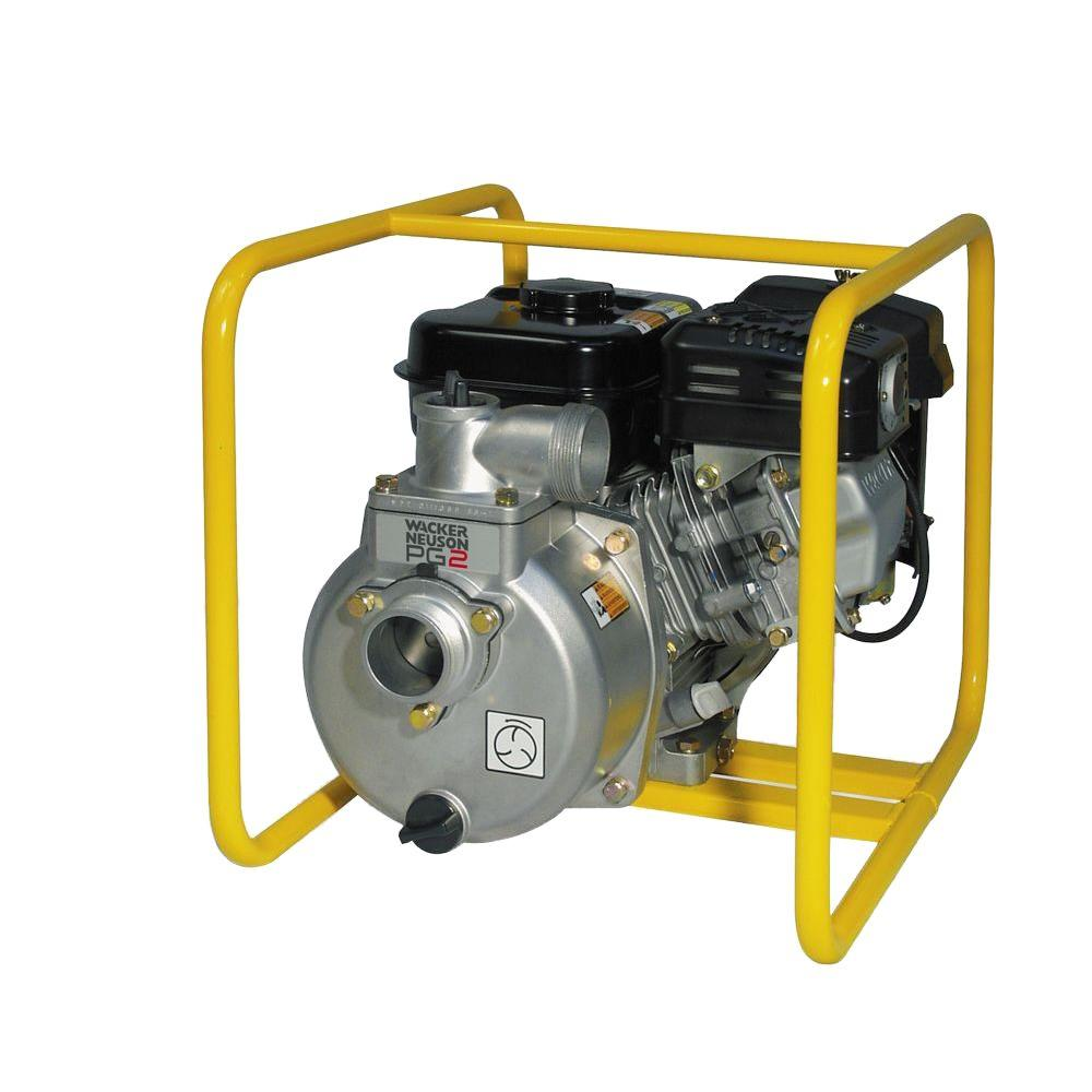 Wacker 1.1 HP Centrifugal Dewatering Pump with 1 in. Hose Kit
