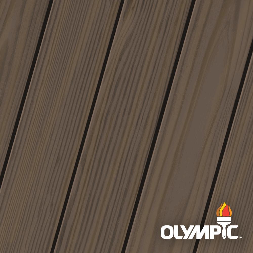 Elite 8-oz. Black Oak EST712 Semi-Transparent Exterior Stain and Sealant in One Low VOC
