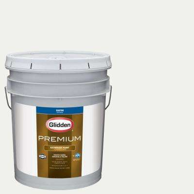 5 gal. #NFL-173A Indianapolis Colts White Satin Exterior Paint