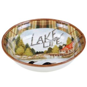 Click here to buy  Lake Life Pasta/Salad Serving Bowl.