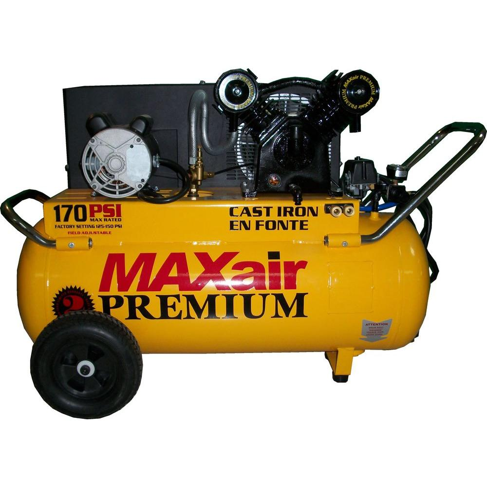 Maxair 25-Gal. Portable Electric Powered Air Compressor