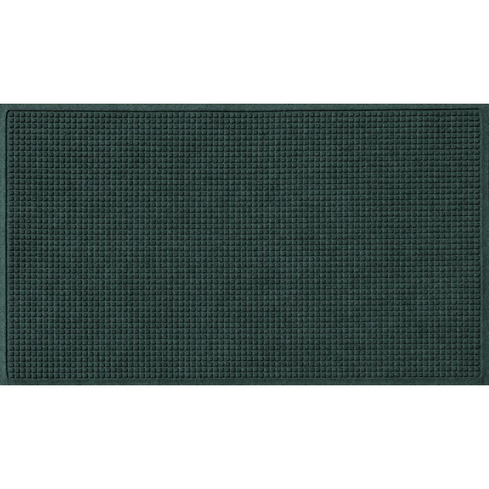 Evergreen 36 in. x 120 in. Squares Polypropylene Door Mat