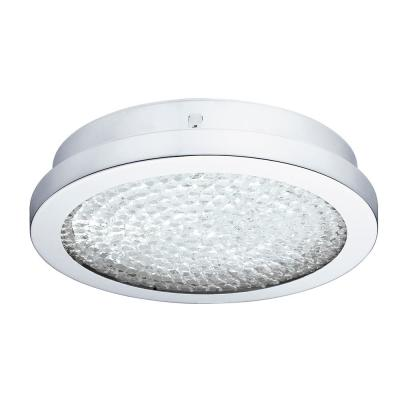 Arezzo 100-Watt Chrome Integrated LED Semi-Flush Mount
