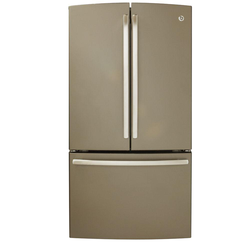 GE 26.3 cu. ft. French Door Refrigerator in Slate