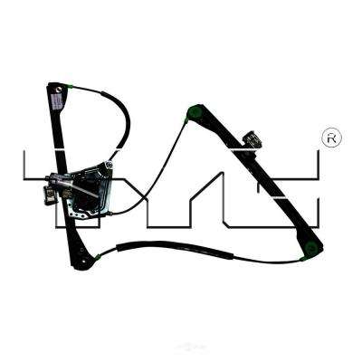 Front Left Power Window Motor and Regulator Assembly fits 2002-2007 Buick Rendezvous