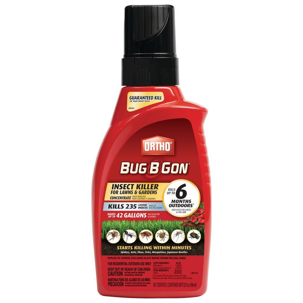 Ortho Bug B Gon 32 Oz Insect Killer For Lawns And Gardens Concentrate1 017651005 The Home Depot