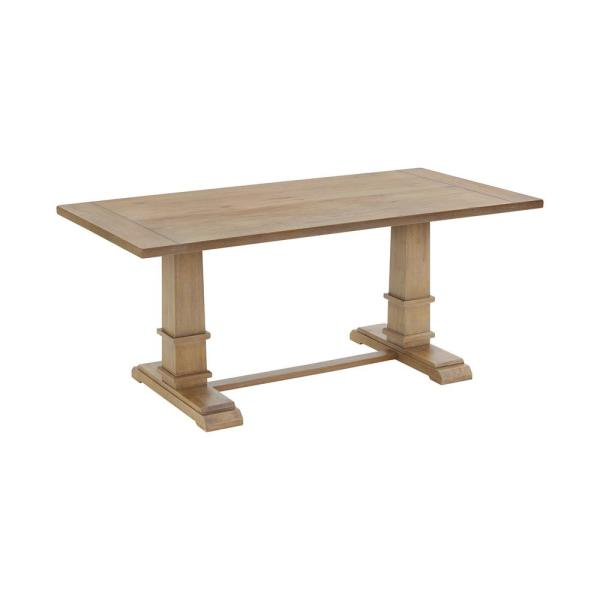 Joanna Rustic Brown Dining Table