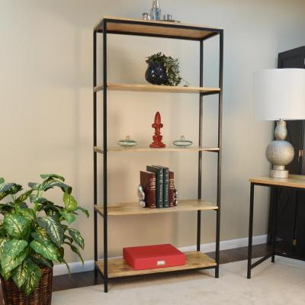 Brayden Natural Open Bookcase