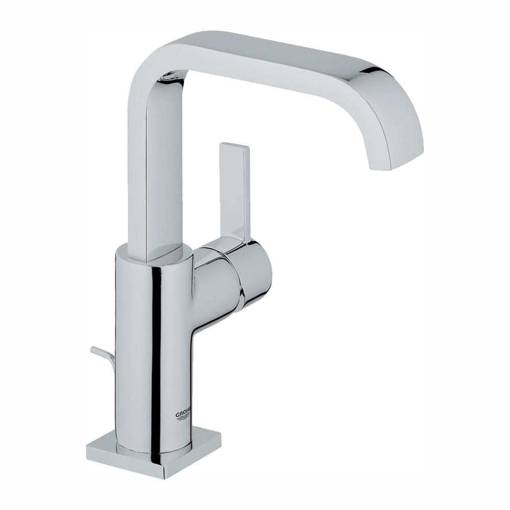 GROHE Allure Single Hole Single-Handle 1.2 GPM Bathroom Faucet in StarLight Chrome