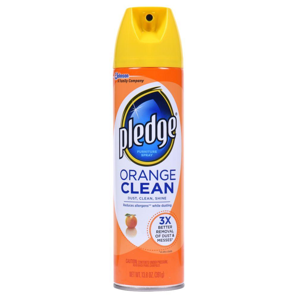 Pledge 13.8 Oz. Orange Clean Furniture Cleaner-623912