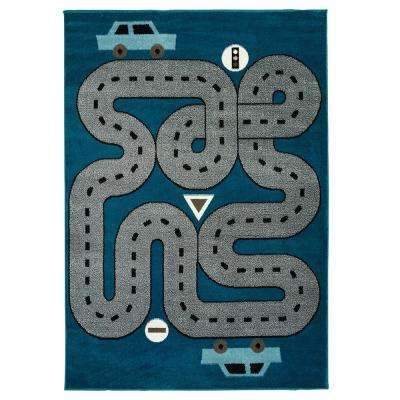 Entryway Blue Western Kids Rugs Rugs The Home Depot
