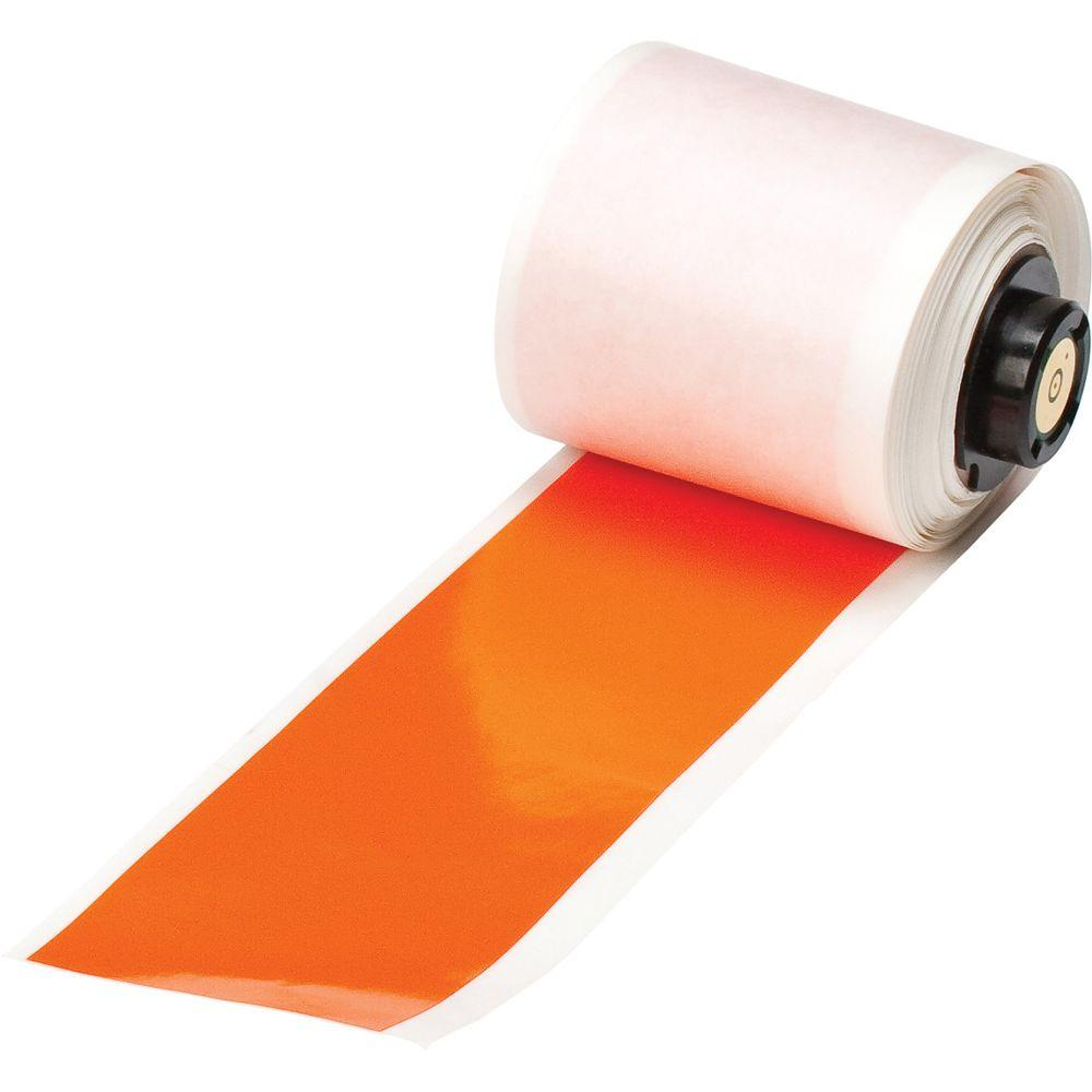 Handimark B-595 2 in. x 50 ft. Indoor/Outdoor Vinyl Orange Film