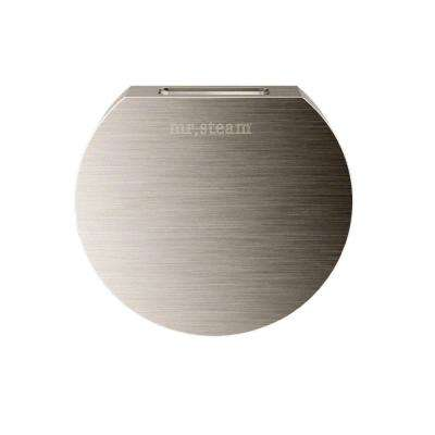 3 in. Replacement AromaSteam Round Steam Head in Brushed Nickel for iTempo/iTempo Plus