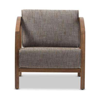Velda Gravel Multi-Color Fabric Arm Chair