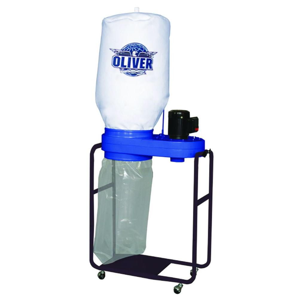 Oliver Machinery 1HP 1Ph - 550 CFM Portable Dust Collector