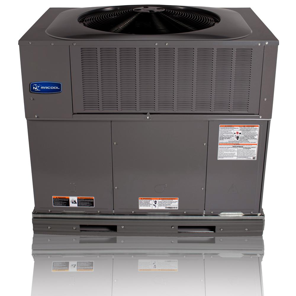 Mrcool 3 Ton 14 Seer R 410a 90 000 Btu Heat Horizontal Or Down Flow Package