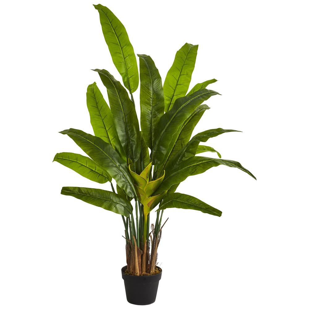 Nearly Natural Indoor 4 5 Ft Traveler S Palm Artificial