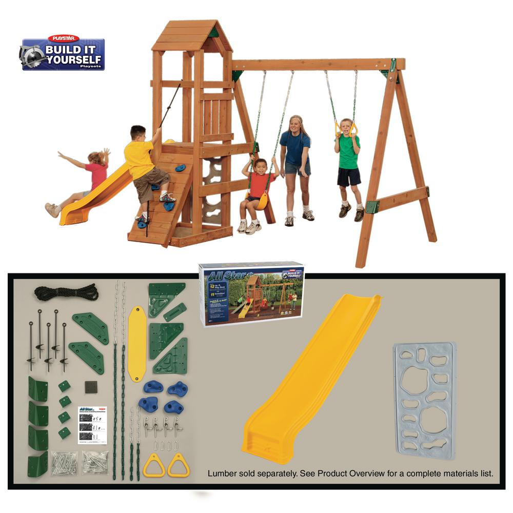 Playstar All Star Build-it Yourself Bronze Playset (Lumbe...