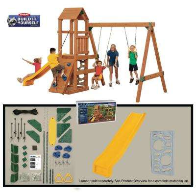 All Star Build-it Yourself Bronze Playset (Lumber Not Included)