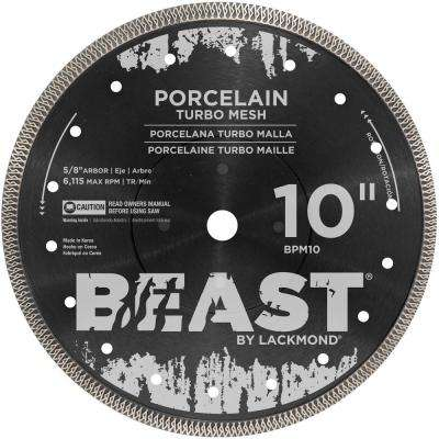 10 in. Pro Series Wet Meshed Porcelain Blade