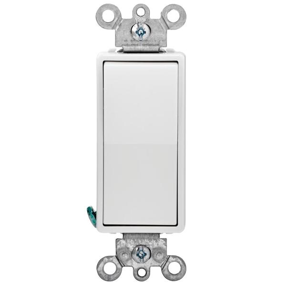 Decora 15 Amp 4-Way Switch - White