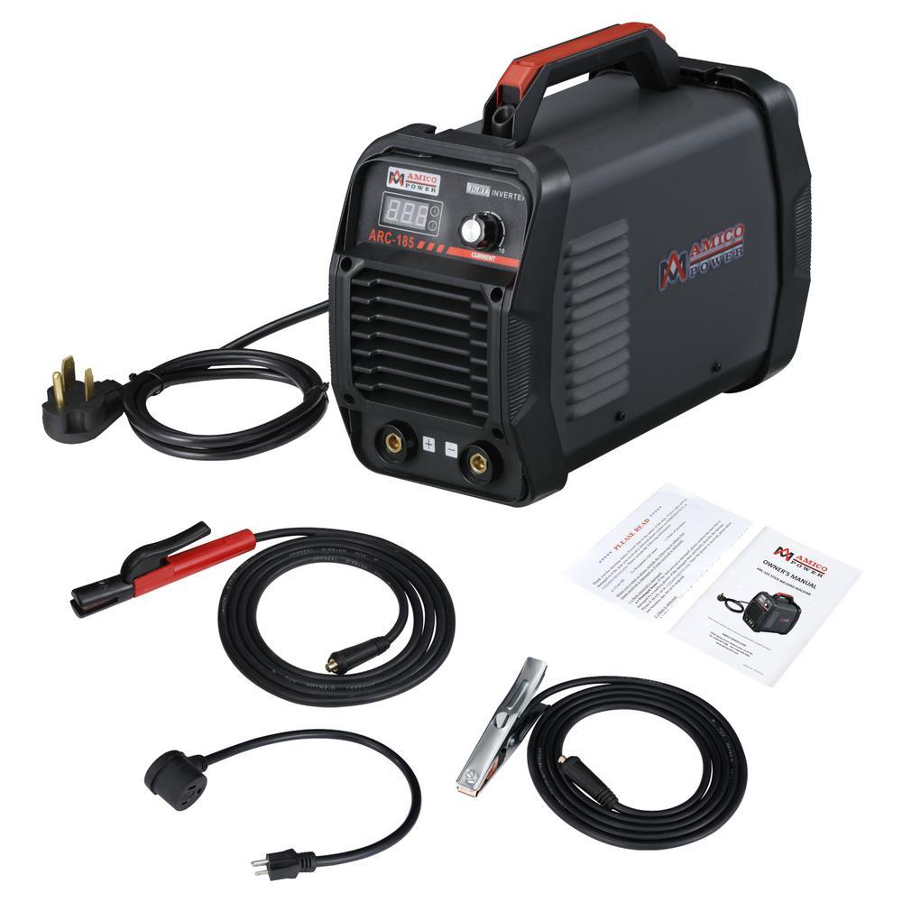 180 Amp Stick Arc  115-Volt and 230-Volt Welder Dual Voltage Input Welding Machine