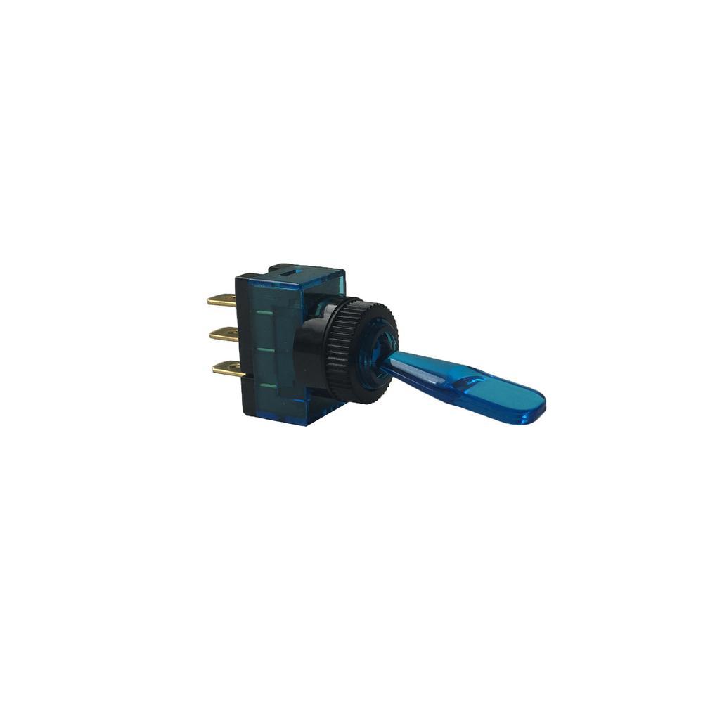 Gardner Bender 20 Amp Single Pole Toggle Switch 1 Pack Gsw 13 How To Hook Up Illuminated Rocker Blue Glow
