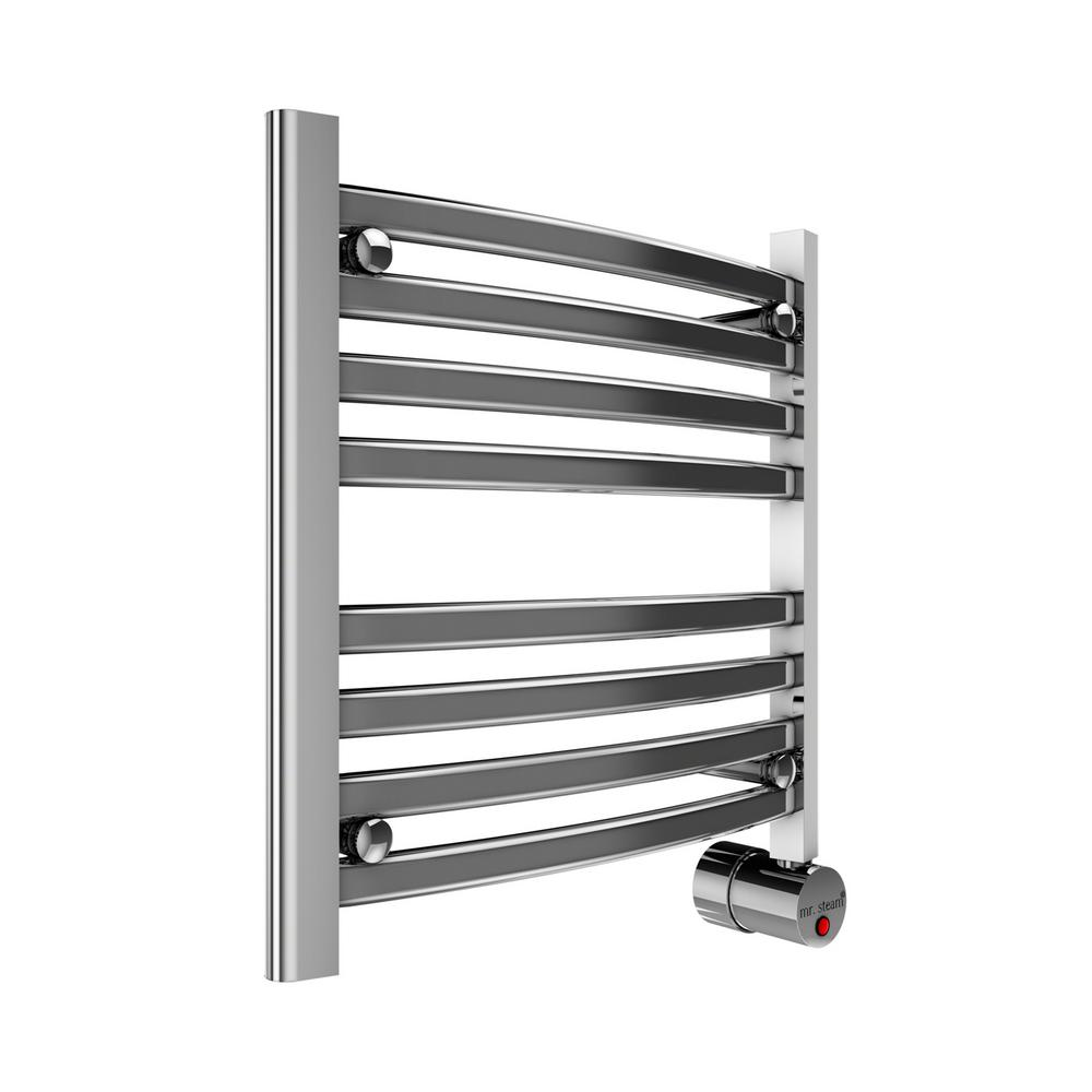 Towel Heater Rack: ANZZI Note 6-Bar Stainless Steel Wall Mounted Electric
