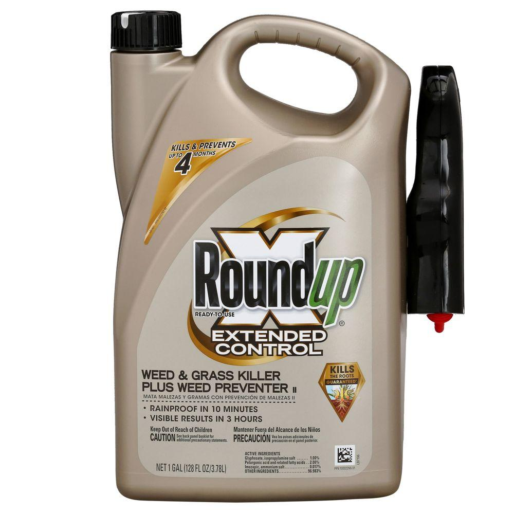 1 gal. Ready-to-Use Extended Control Weed and Grass Killer Plus Weed