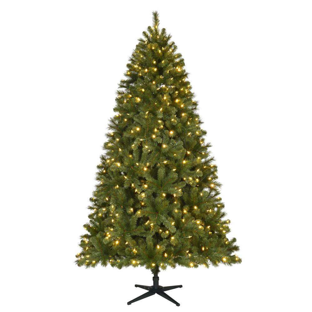 Pre-Lit LED Wesley Spruce Artificial Christmas Tree with 550 Color Changing  Lights 8fab72f24494