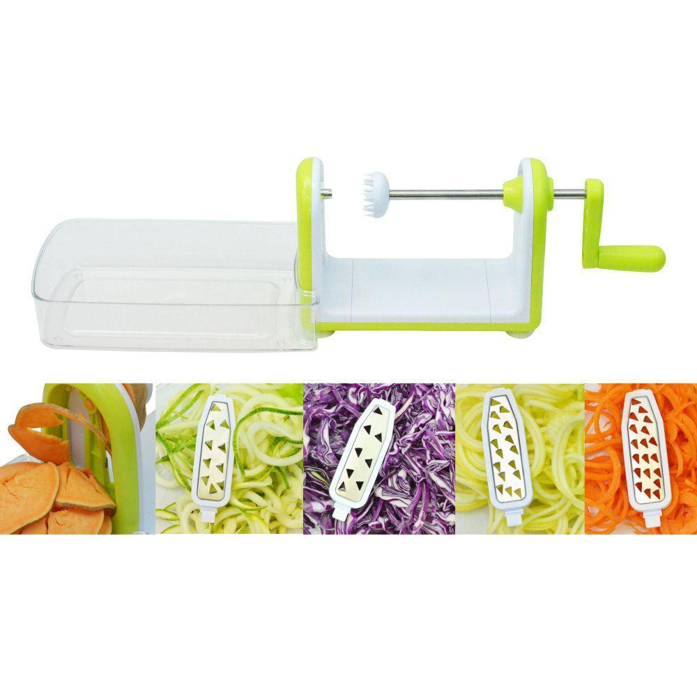 3-Blade Spiral Vegetable Slicer