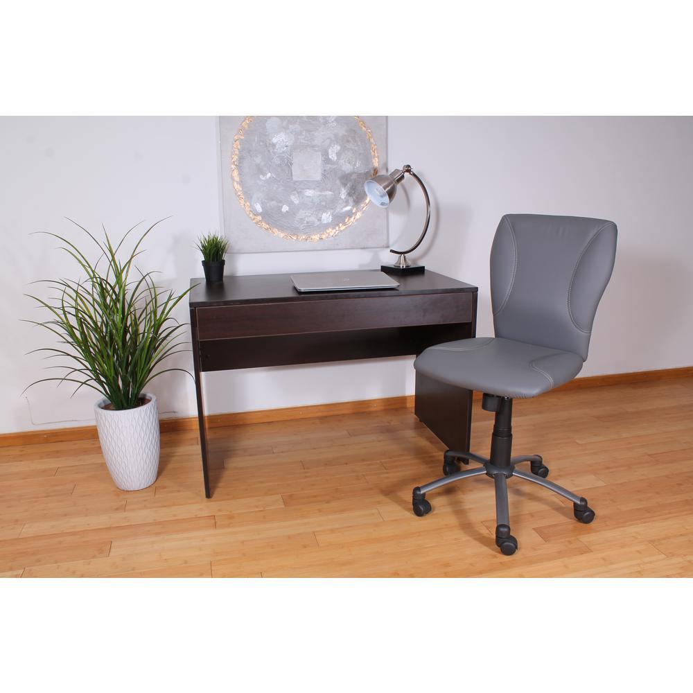 Boss Gray CaressoftPlus Tiffany Chair