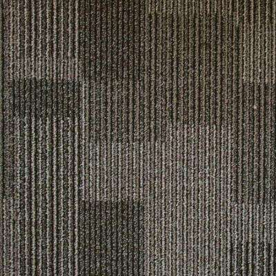 Rockefeller Wrought Iron Loop 19.7 in. x 19.7 in. Carpet Tile (20 Tiles