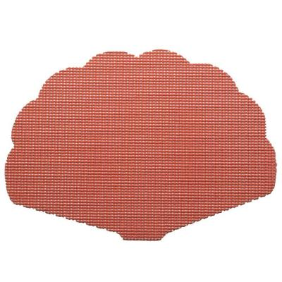 Fishnet Shell Placemat in Brick (Set of 12)