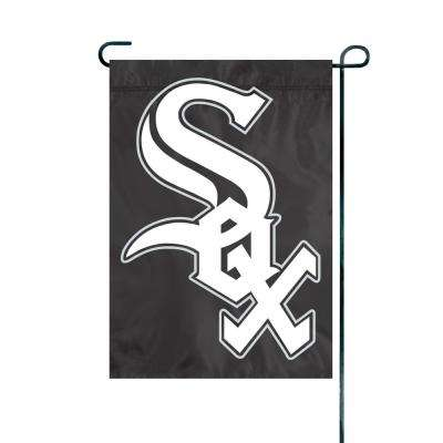 1 ft. x 1.5 ft. Nylon Chicago White Sox Premium Garden Flag