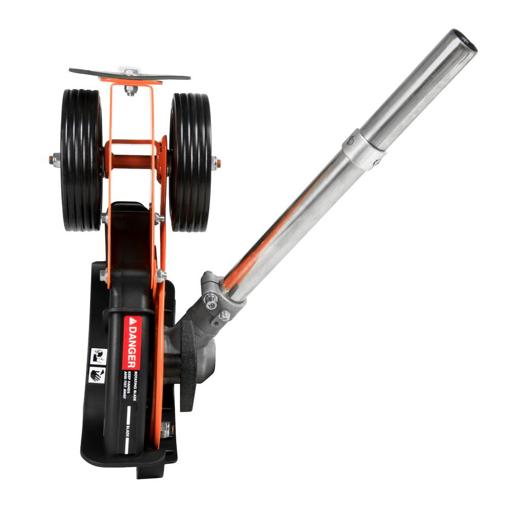 Edger Attachment With 8 In Straight Blade For Powermate