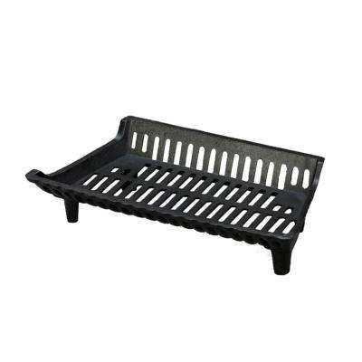 22 in. Cast Iron Fireplace Grate with 2 in. Legs