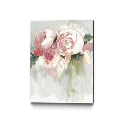 "30 in. x 40 in. ""Peonies"" by Asia Jensen Wall Art"