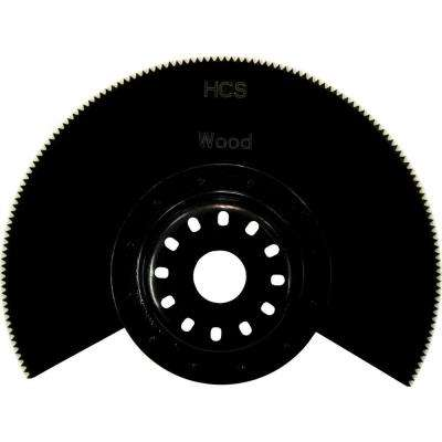 3-1/2 in. Segmented Saw Blade, Compatible with Oscillating Multi Tools