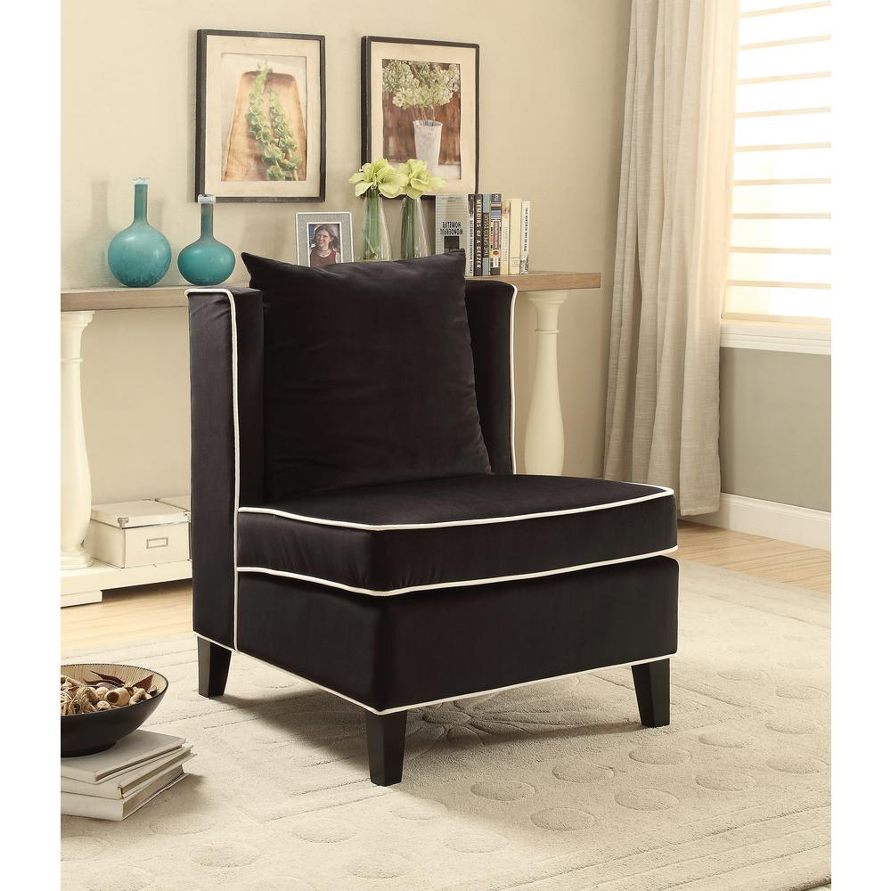 ACME Ozella Accent Chair in Black
