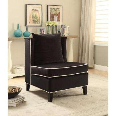 Ozella Accent Chair in Black