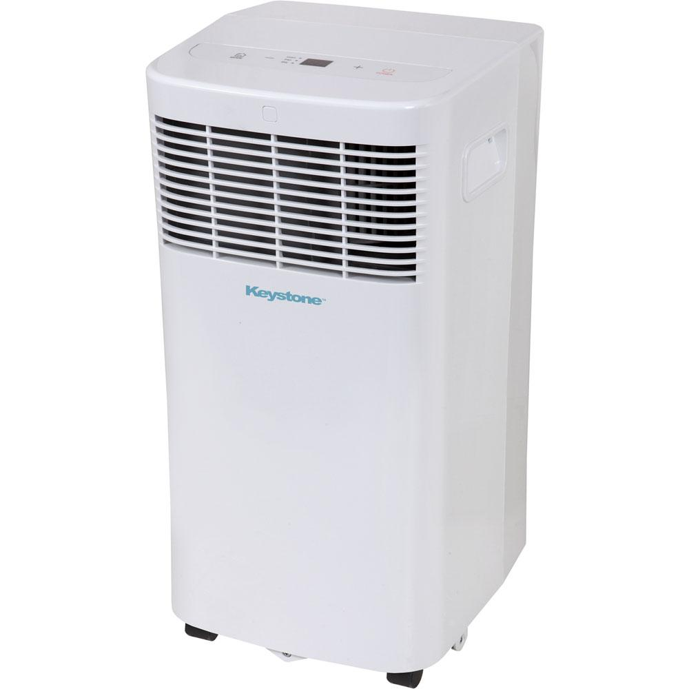 Keystone 8 000 Btu 115 Volt Portable Air Conditioner With Dehumidifier And Remote Kstap08d The