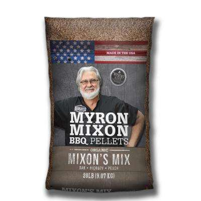 Myron Mixon Organic BBQ Wood Pellets - Myron's Mix (Oak, Hickory and Peach)