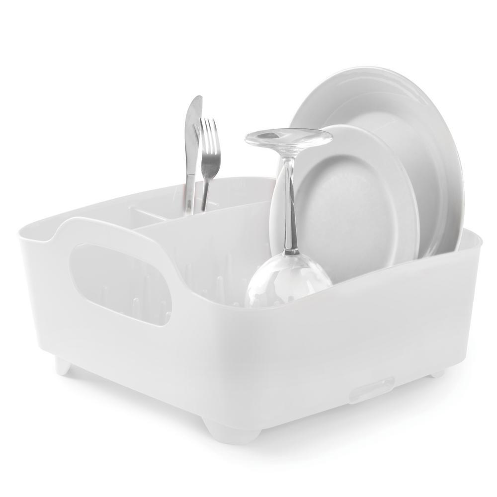 Tub White Dish Rack