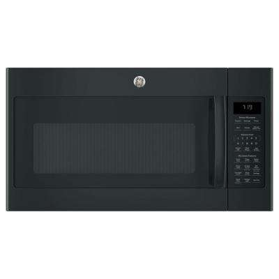 1.9 cu. ft. Over the Range Sensor Microwave Oven with Recirculating Venting in Black
