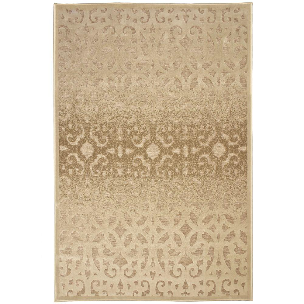 Orian Rugs Welded Ave Tan 6 ft. 5 in. x 9 ft. 8 in.-DISCONTINUED