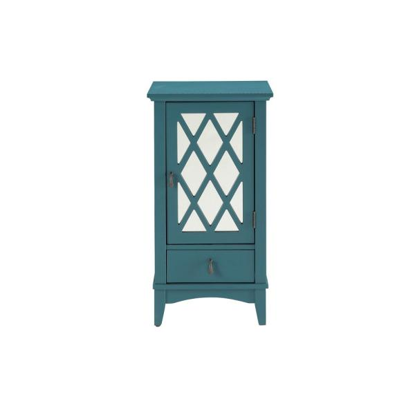 ACME Furniture Ceara Teal Storage Cabinet