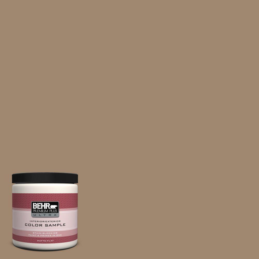 Behr premium plus ultra 8 oz 700d 5 toffee crunch for Behr pro paint