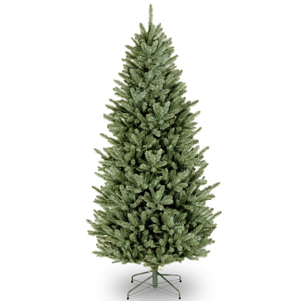 national tree company 75 ft natural fraser slim fir artificial christmas tree - 75 Ft Slim Christmas Tree
